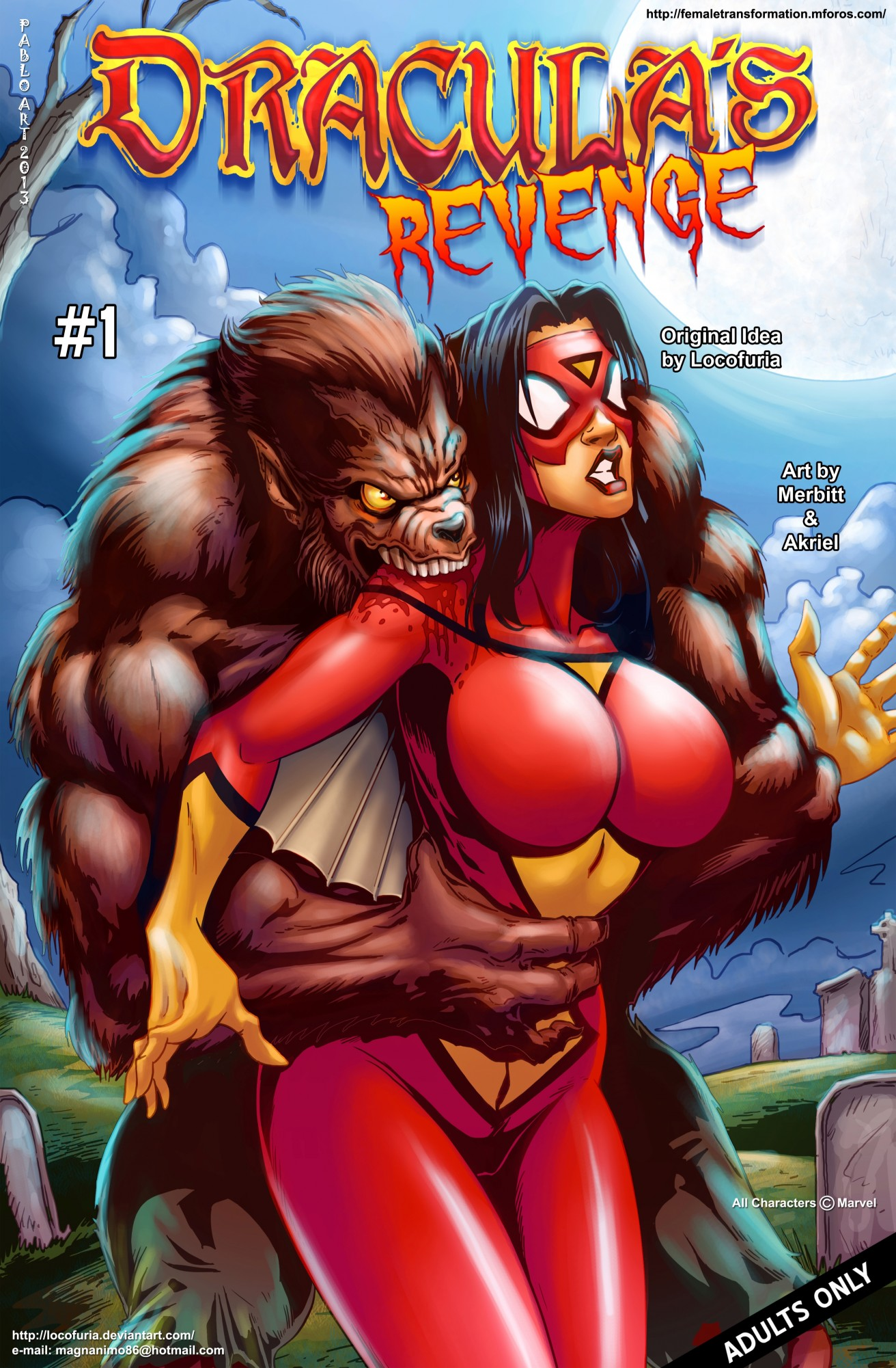 Goodcomix Spider-Woman - [Locofuria] - Draculas Revenge