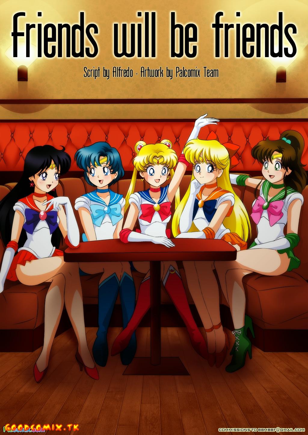 Goodcomix Sailor Moon - [Palcomix] - Friends Will Be Friends