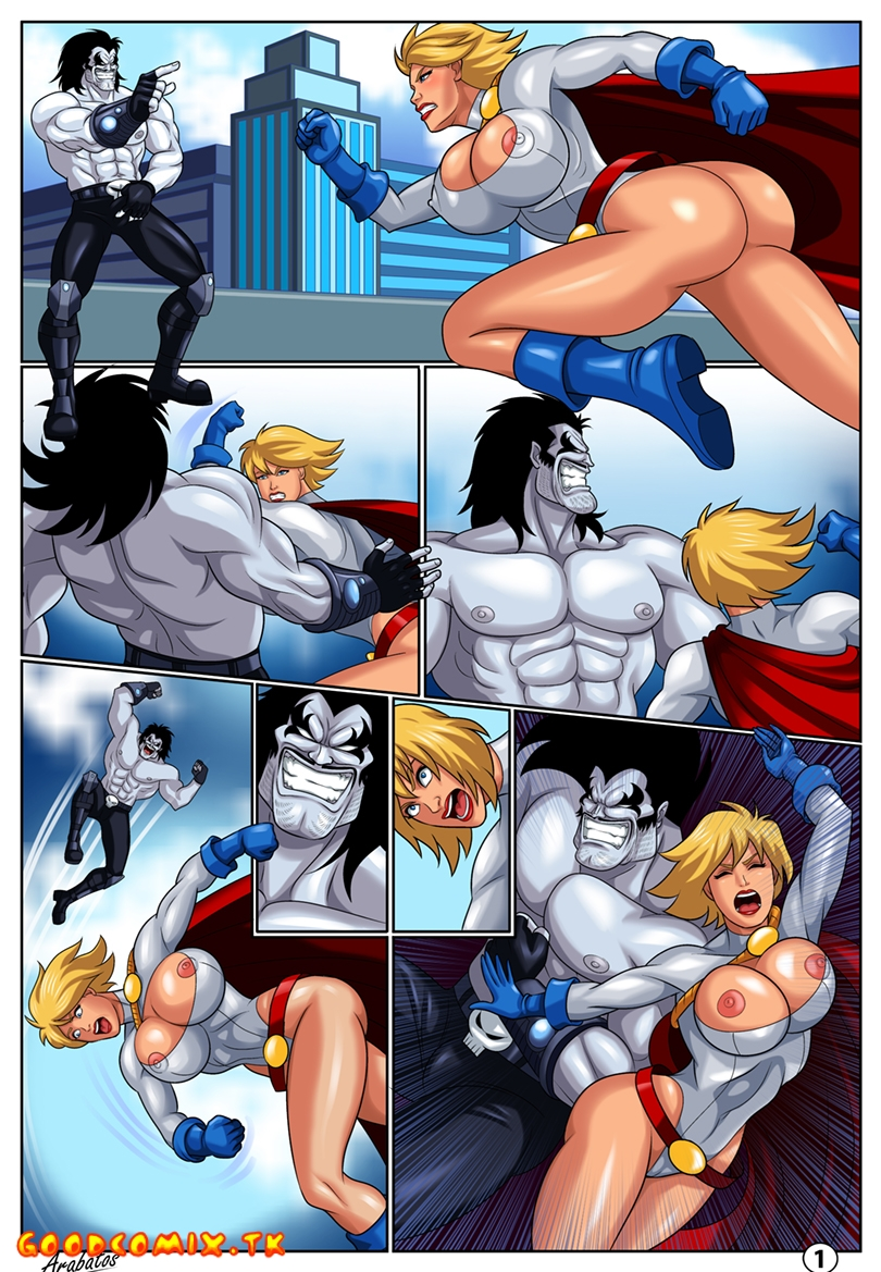 Goodcomix Justice League - [Arabatos] - Horny Superheroines