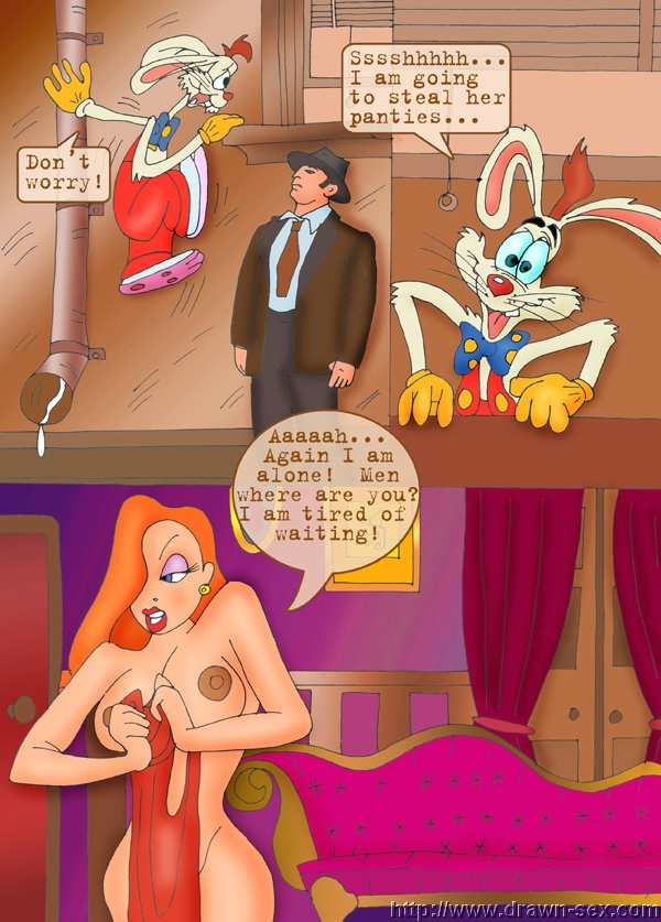 Goodcomix Who Framed Roger Rabbit - [Drawn-Sex] - Men For Jessica 1