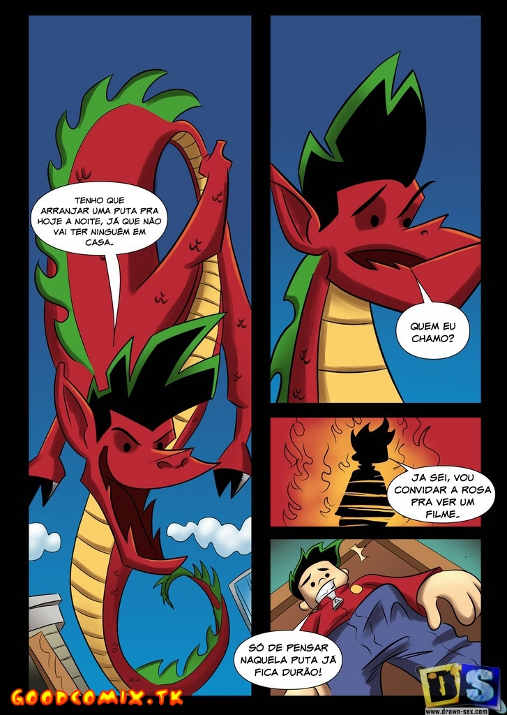 Goodcomix American Dragon Jake Long - [Drawn-Sex] - O Dragao Ocidental