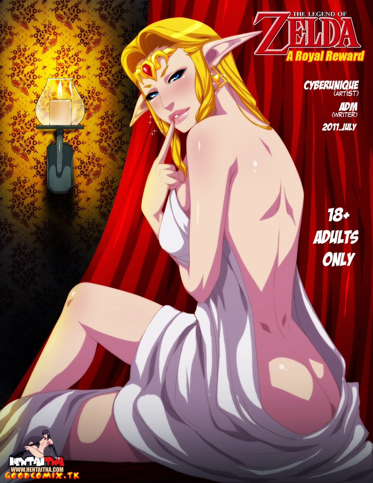 Goodcomix The Legend of Zelda - [HentaiTNA] - A Royal Reward