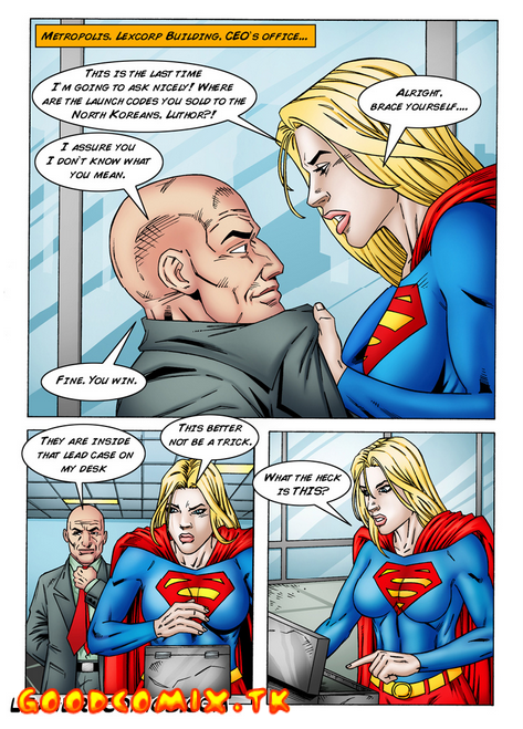 Goodcomix Superman - [Leandro Comics] - Lex Luthor Fucks Supergirl