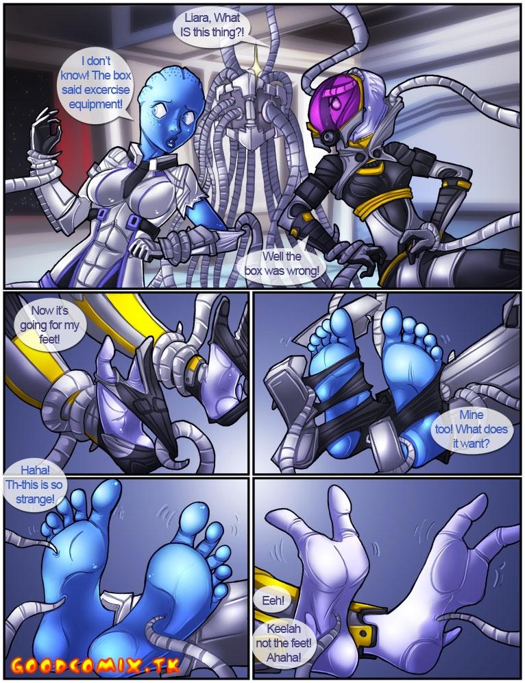 Goodcomix Mass Effect - [Shia] - Mass Rape Cube