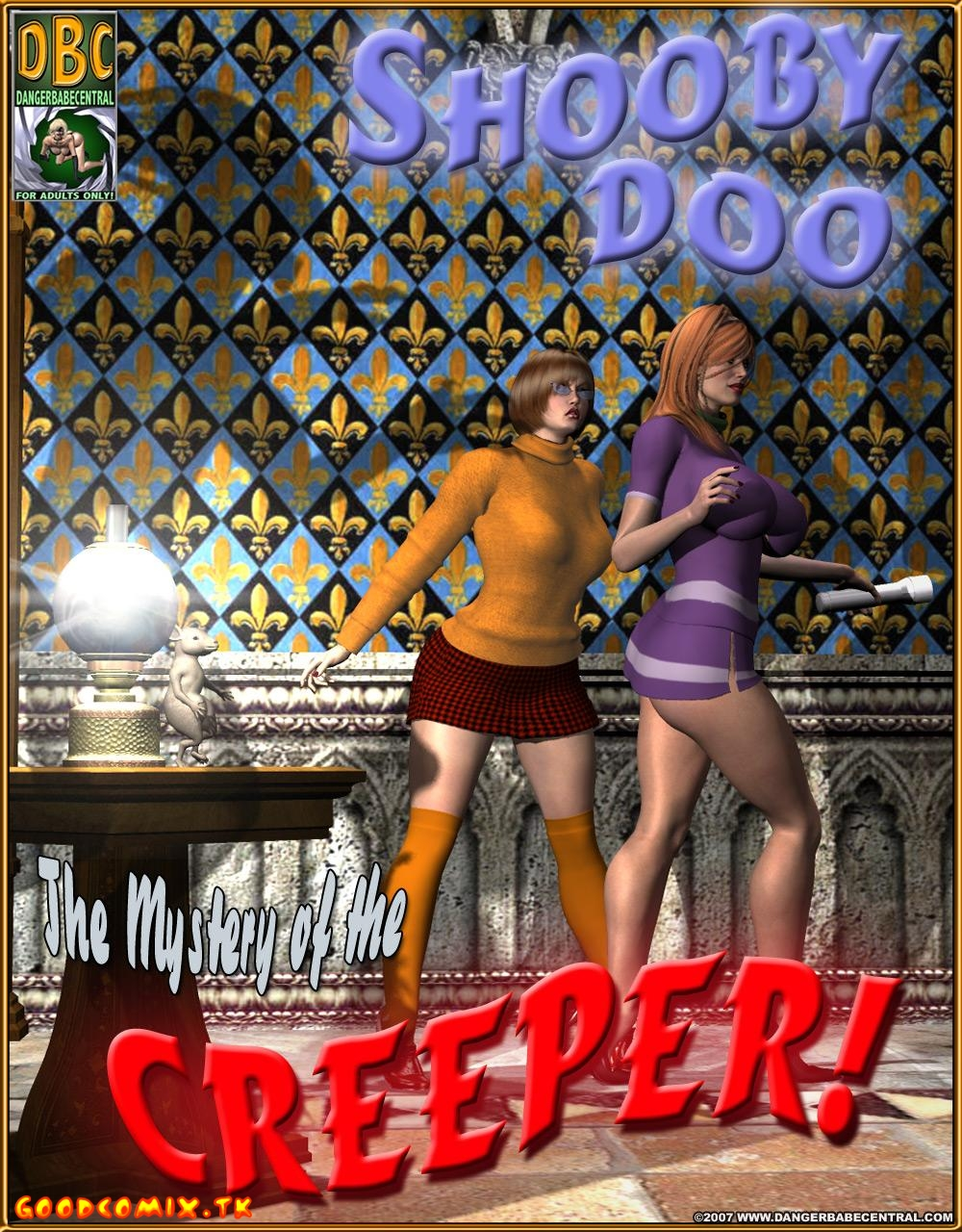 Goodcomix Scooby Doo - [Danger Babe Central] - The Mystery of the CREEPER!