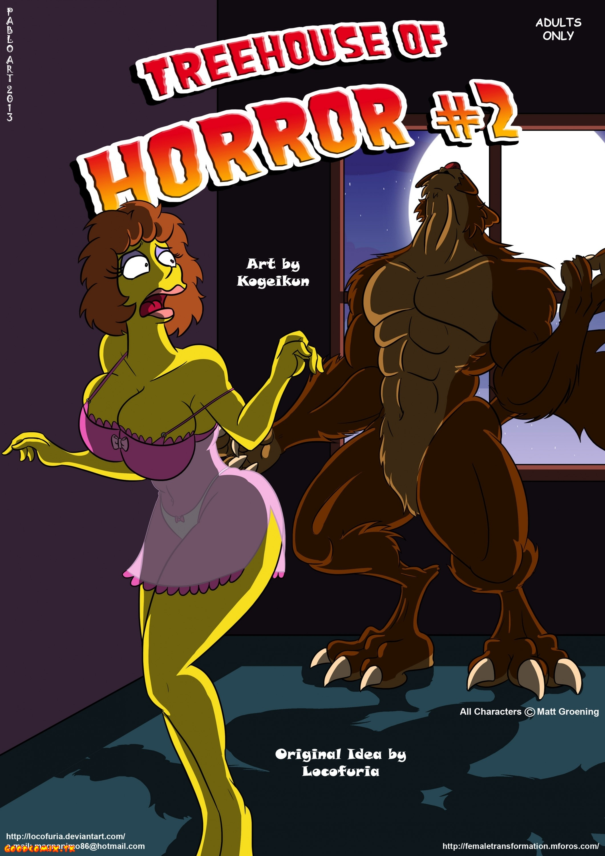 Goodcomix The Simpsons - [Locofuria] - Treehouse of Horror 2