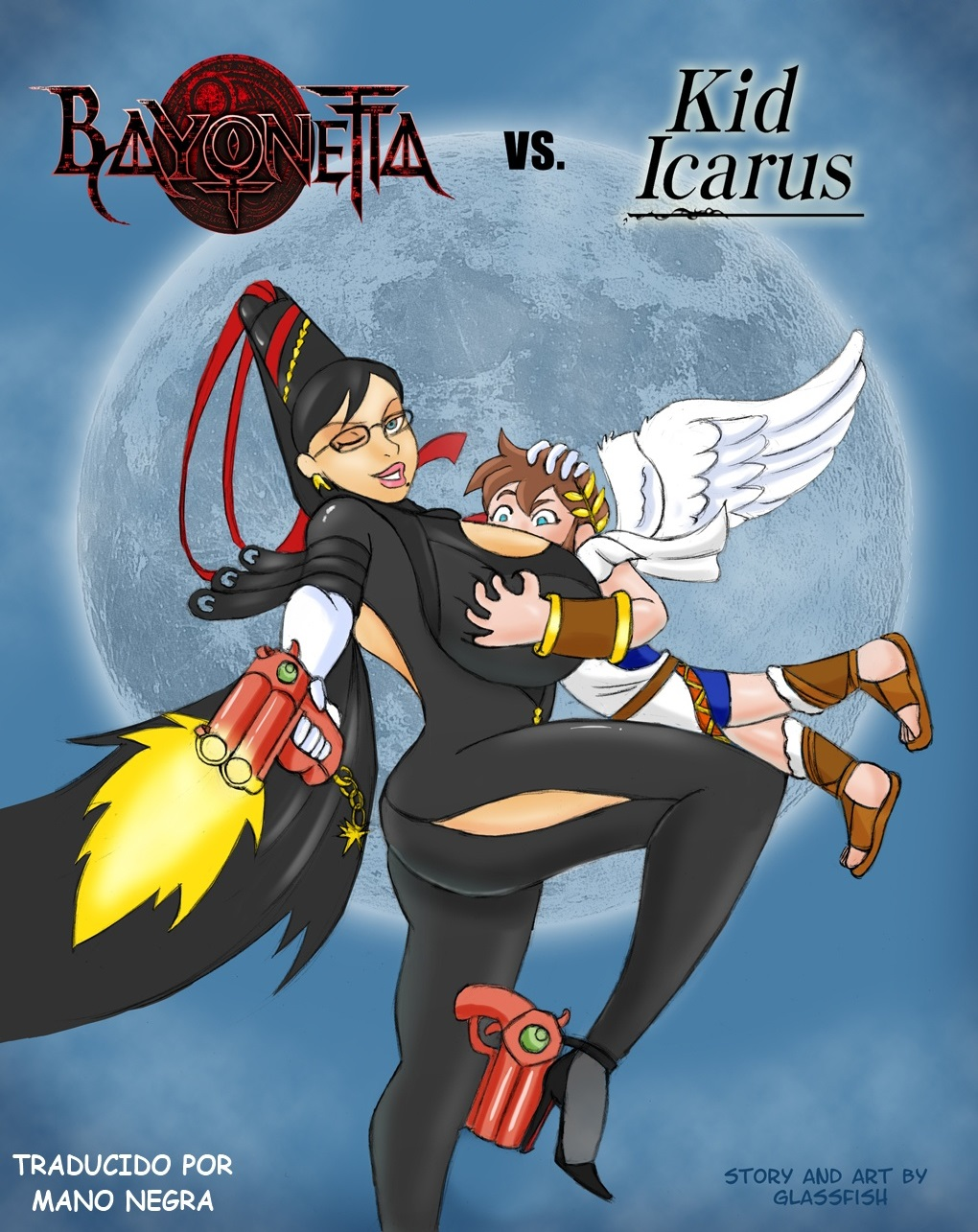 Goodcomix Bayonetta - [glassfish] - Bayonetta vs. Kid Icarus