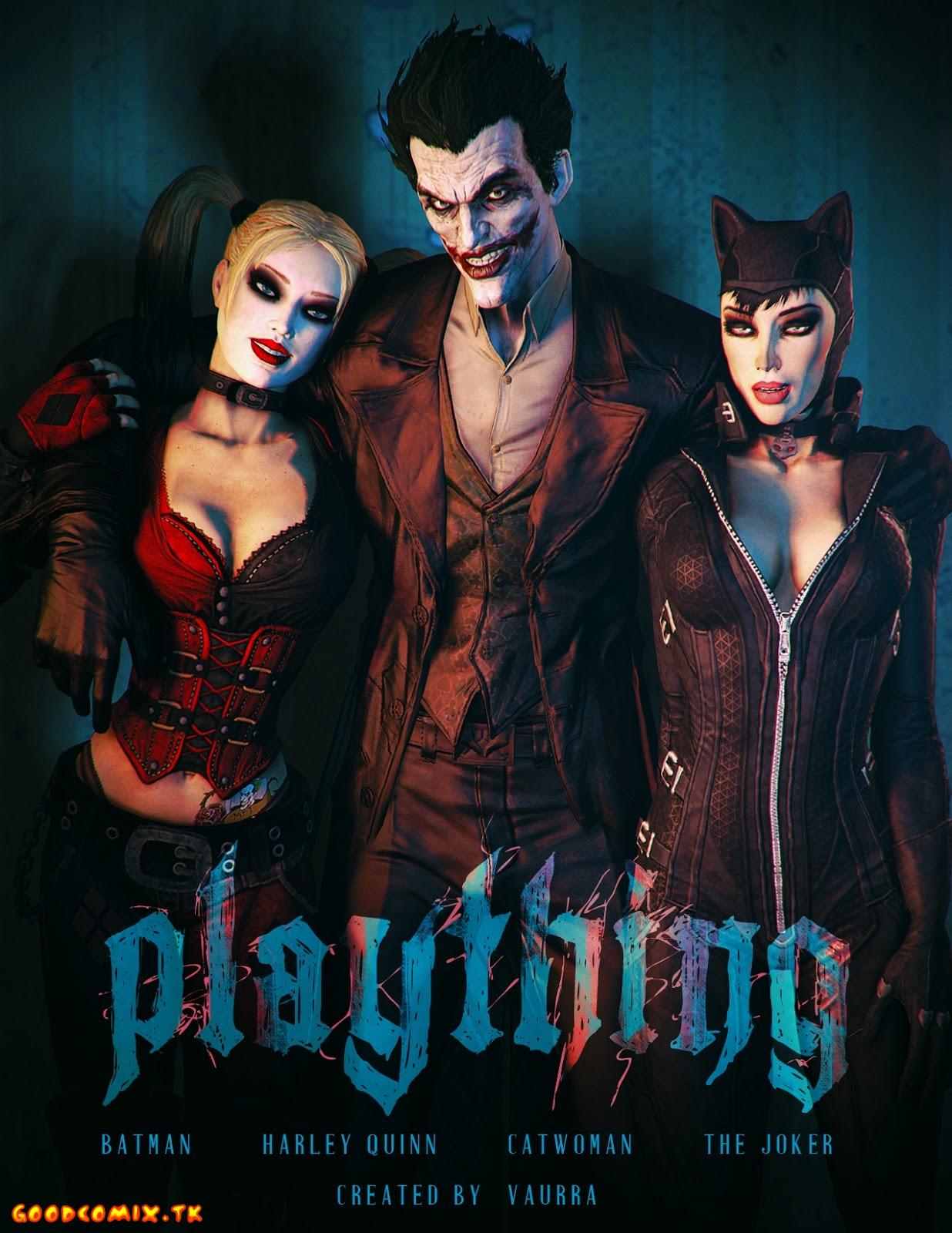 Goodcomix Batman - [Vaurra] - Plaything
