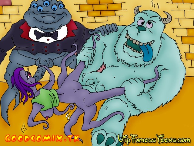 Goodcomix Monsters Inc - [VIP Famous Toons] - Monsters Inc Wild Orgies