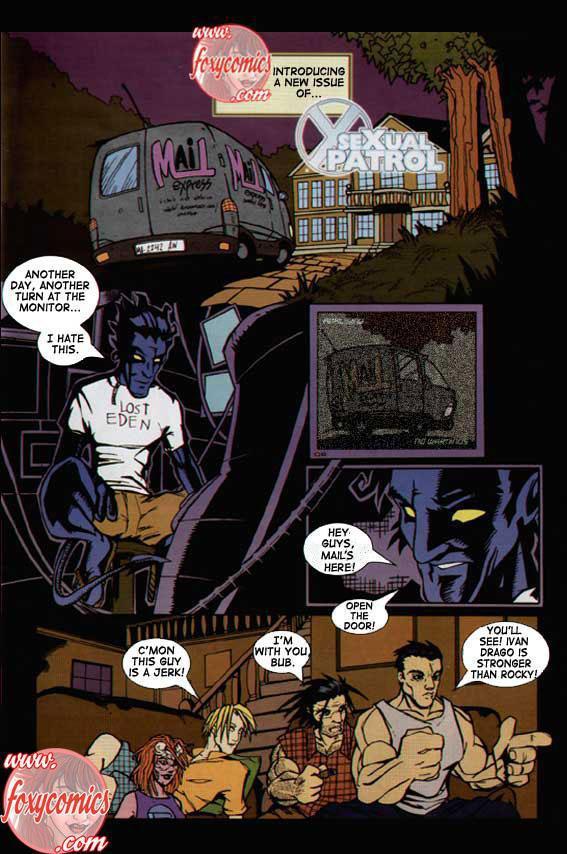 Goodcomix X-Men - [Foxy Comics] - SeXual Patrol