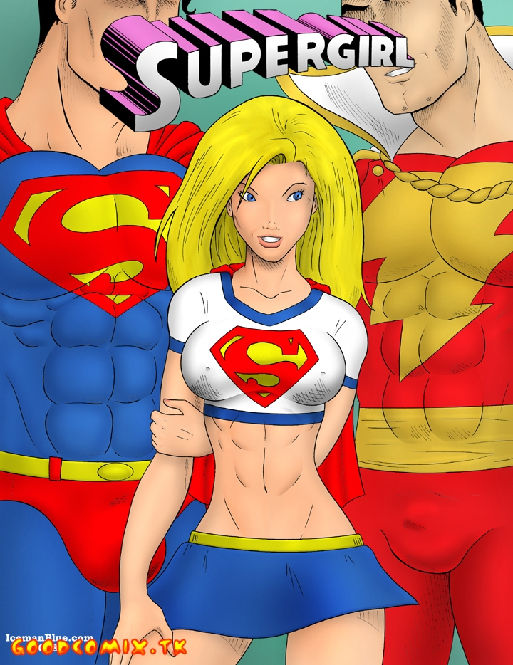 Goodcomix Superman - [Iceman Blue] - Supergirl
