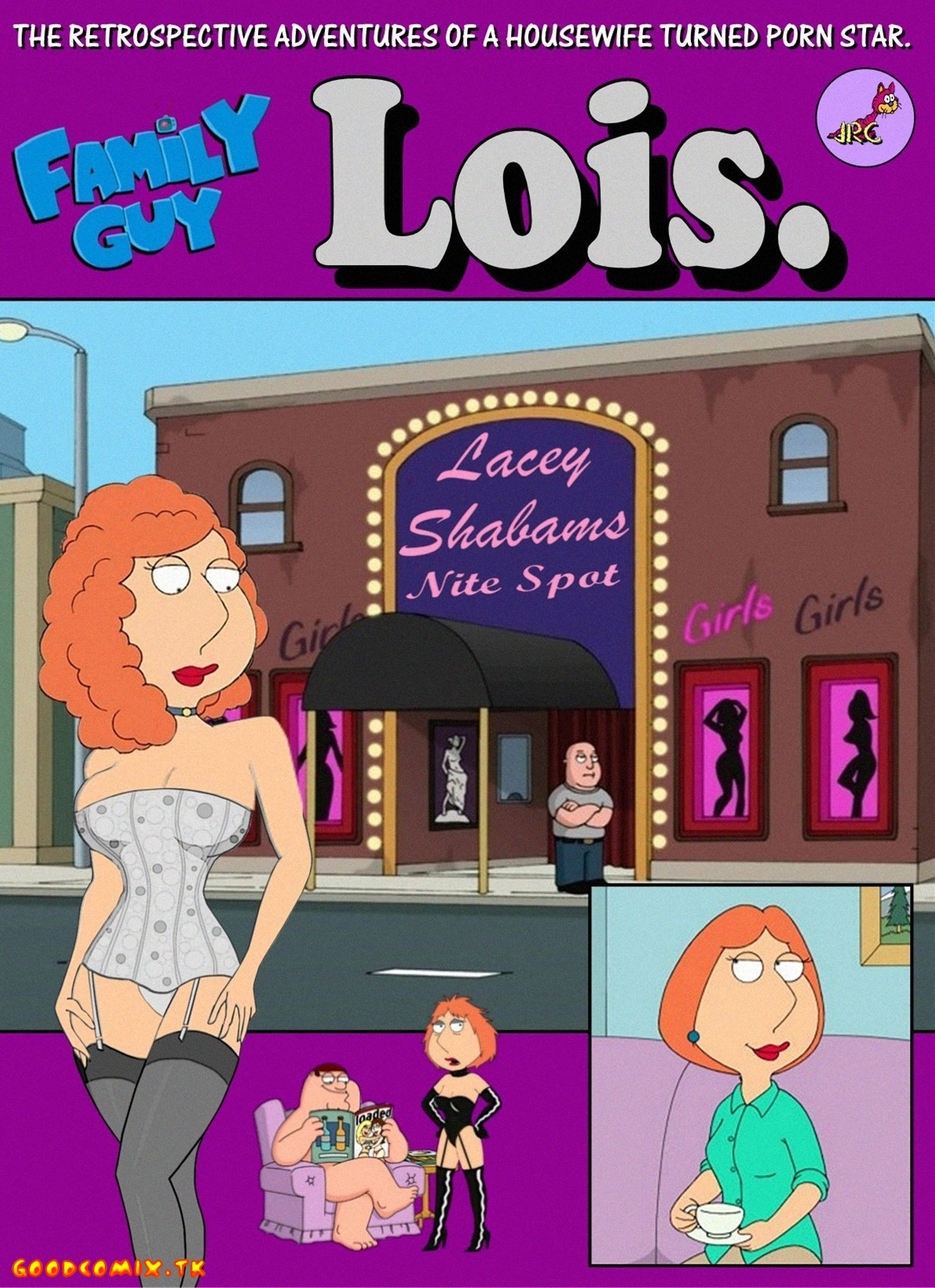 Goodcomix Family Guy - [JRC] - The Retrospective Adventures Of A Housewife Turned Porno Star - Lois