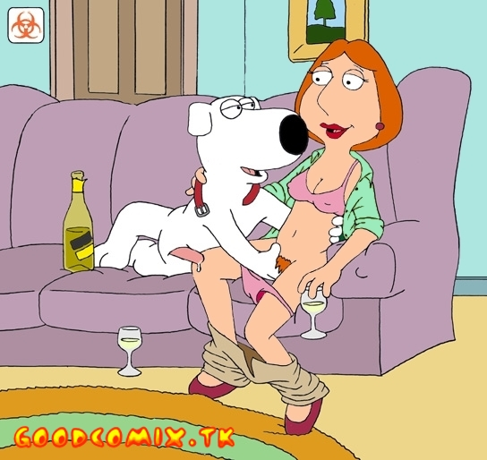 Goodcomix Family Guy - [Mole] - Brain Fuck with Drunk Lois