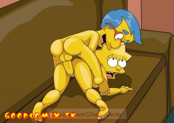 Goodcomix The Simpsons - [ToonFanClub] - Girls of Bart Simpson