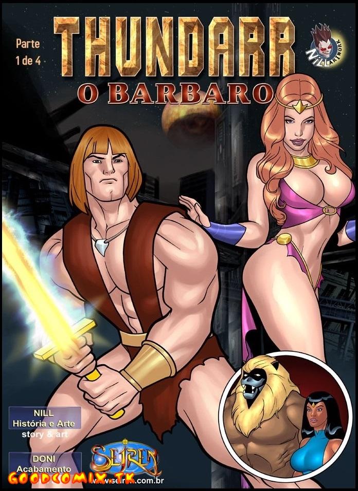 Goodcomix Thundarr The Barbarian - [Seiren] - Thundarr O Barbaro