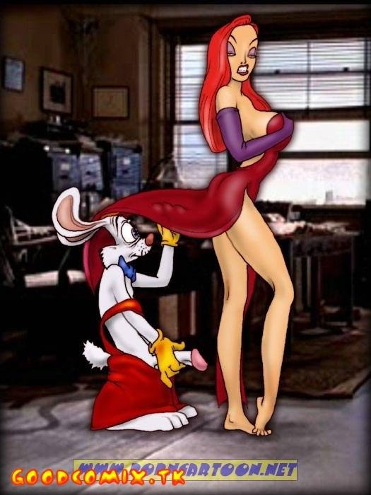 Goodcomix Who Framed Roger Rabbit - [PornCartoon] - Fucking Rabbits Family