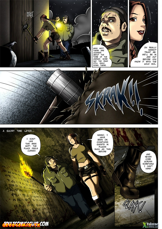 Goodcomix Tomb Raider - [Melkor (Romulo Mancin)] - The Adventures of Sara Hoft - Sara Vs. Zombie