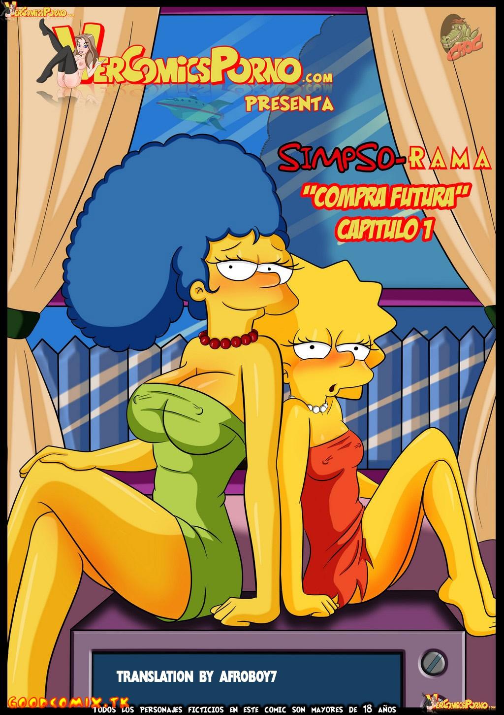 Goodcomix The Simpsons - [Croc] - SimpsoRama - Simpso-Rama - Capitulo 1 Compra Futura 1