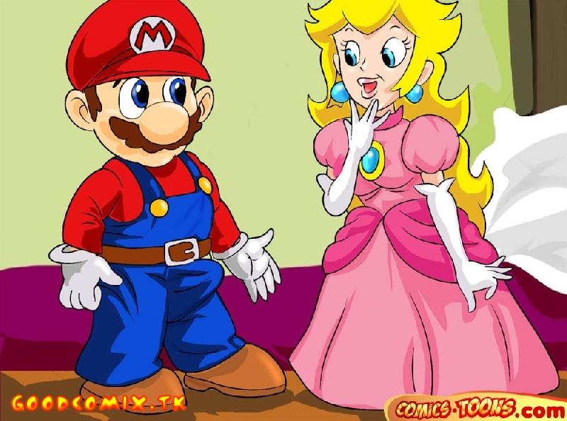 Goodcomix Super Mario Bros - [Comics-Toons] - The Resilient Ass Of Princess