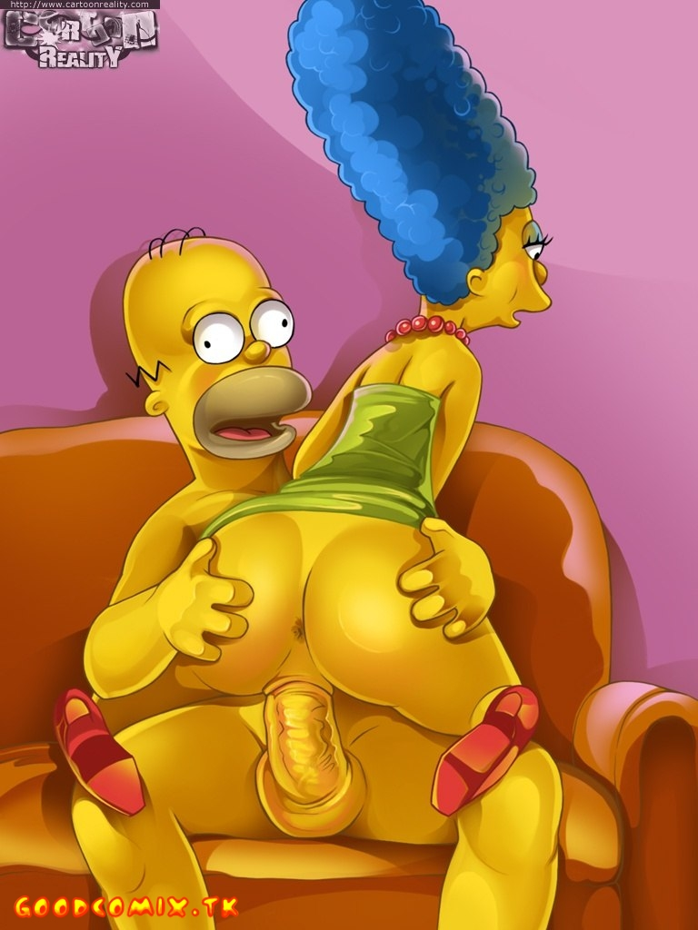 Goodcomix The Simpsons - [Cartoon Reality] - Plastic Simpsons