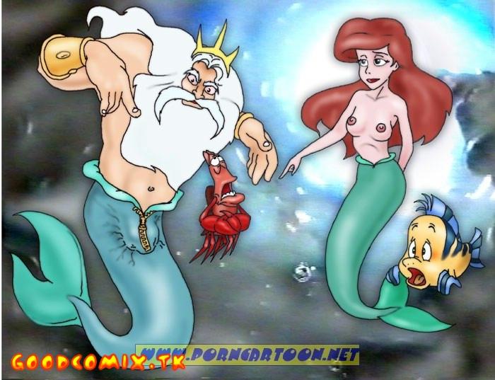 Goodcomix The Little Mermaid - [PornCartoon] - Tireless Neptune