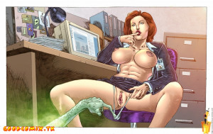 Goodcomix The X-Files - [Sinful Comics] - Alien Fucked Scully