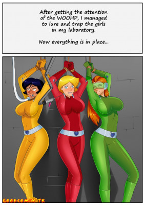 Goodcomix Totally Spies - [oo sebastian oo] - Hypno Laboratory