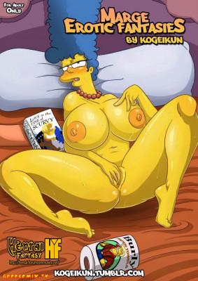 Goodcomix The Simpsons - [Kogeikun] - Marge Erotic Fantasies - Le Fantasie Erotiche Di Marge
