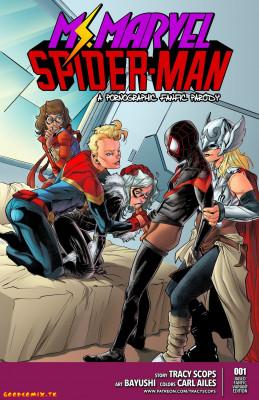 Goodcomix Marvel Universe & Marvel Comics - [Tracy Scops][Bayushi] - Miss Marvel Spider-Man