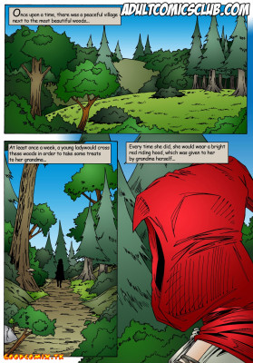 Goodcomix Little Red Riding Hood - [Leandro Comics] - Mr. Hunter With Big Dick
