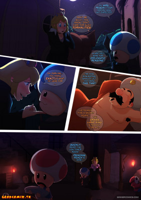 Goodcomix Super Mario Bros - [Sillygirl] - Peach Princess