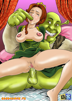 Goodcomix Shrek - [Drawn-Sex] - Shrek's Dreamland