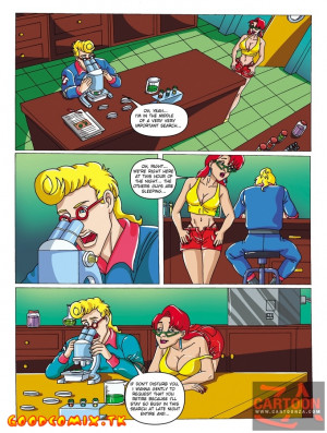 Goodcomix Ghostbusters - [Cartoonza] - Cute Janine Strips Nude To Tempt Egon Away From Working For Hot Romance And Sex