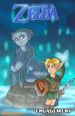 Goodcomix The Legend of Zelda - [Glassfish] - Engagement