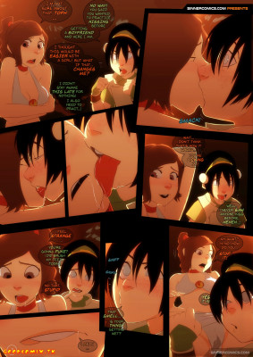 Goodcomix Avatar the Last Airbender - [Sillygirl] - Toph vs. Ty Lee