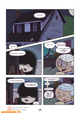 Goodcomix The Loud House - [VS] - Wet Black Hole