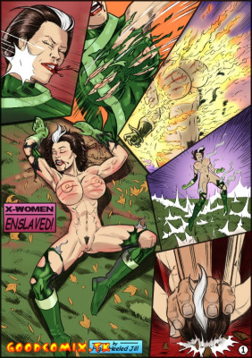Goodcomix X-Men - [Dimsumboy22][High-Heeled Jill] - X-Women Enslaved