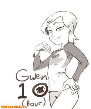Goodcomix Ben 10 -  [Polyle] - Gwen 10 Hour