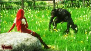 Goodcomix Little Red Riding Hood - [Vaesark](CGS44) - Adult Girl