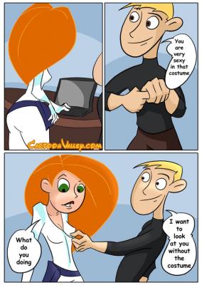 Goodcomix Kim Possible - [CartoonValley][Comic][Chupa] - Kim Has Naughty Fun With Ron
