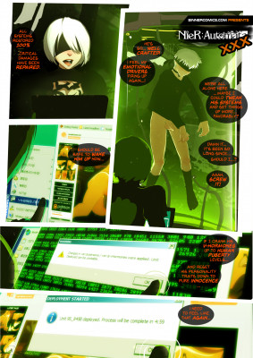 Goodcomix NieR Automata - [Sillygirl] - NieR Automata XXX