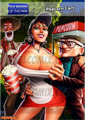 Goodcomix Crossover - [WelComix][Jaguar] - Old Geezers of Parks #2 - Popcorn Cart