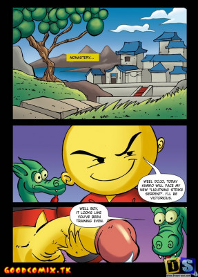 Goodcomix Xiaolin Showdown - [Drawn-Sex] - Two Snakes