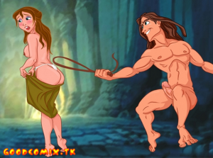 Goodcomix Tarzan - [TitFlaviy] - Jane and Tarzan