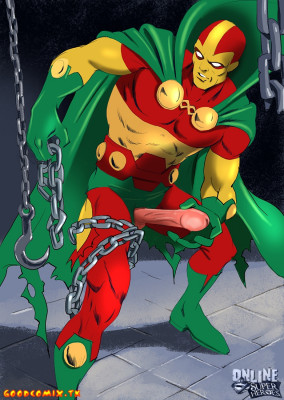 Goodcomix DC Comics - [Online SuperHeroes] - Manhunter Gets Hard Anal Sex From Mr. Miracle