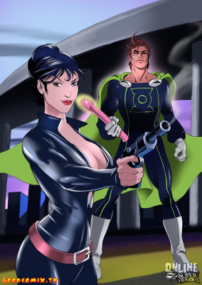 Goodcomix Crossover Heroes - [Online SuperHeroes] - Modesty Blaise Getting Anal Sex From Mon-El