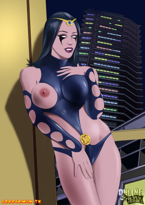 Goodcomix Marvel Universe & Marvel Comics - [Online SuperHeroes] - Nick Shrike Gives Nightside a Hot Creampie