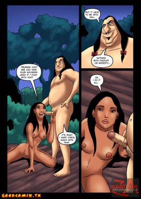 Goodcomix Pocahontas - [Cartoonza][Marcelo Salaza] - Tanned Pocahontas