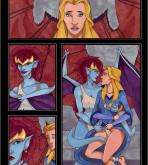 Gargoyles - [VP] - Demona X Finella