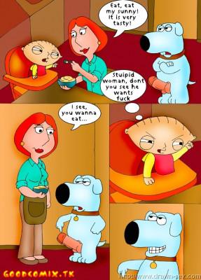 Goodcomix Family Guy - [Drawn-Sex][Lucky Shark] - Cum Shower Part 2